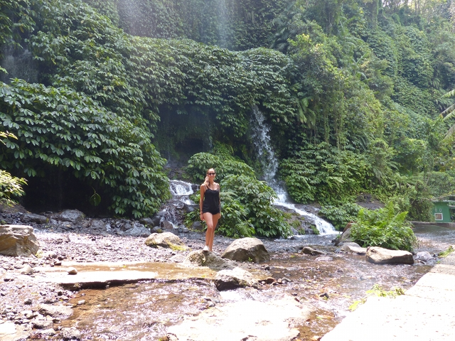 Jennifer Waterfall Lombok