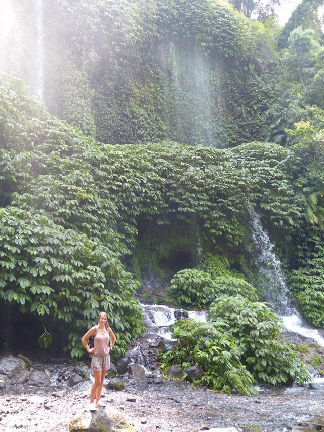 Manon Waterfall Lombok