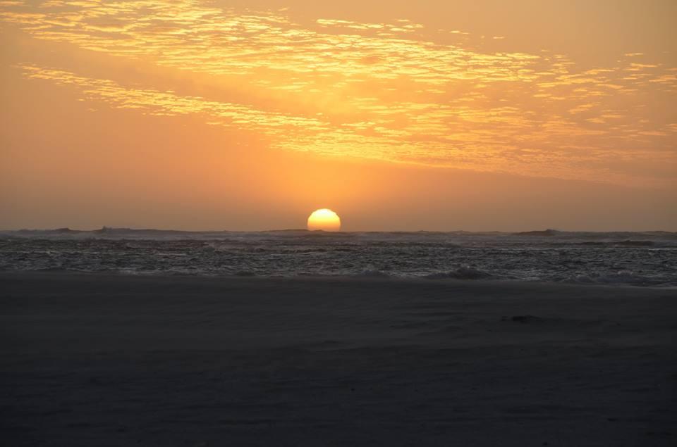Coucher de soleil à Geraldton