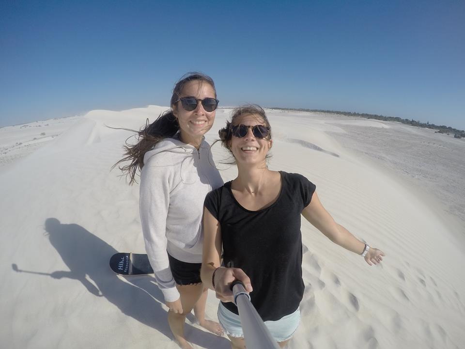 Sandboarding à Lancelin