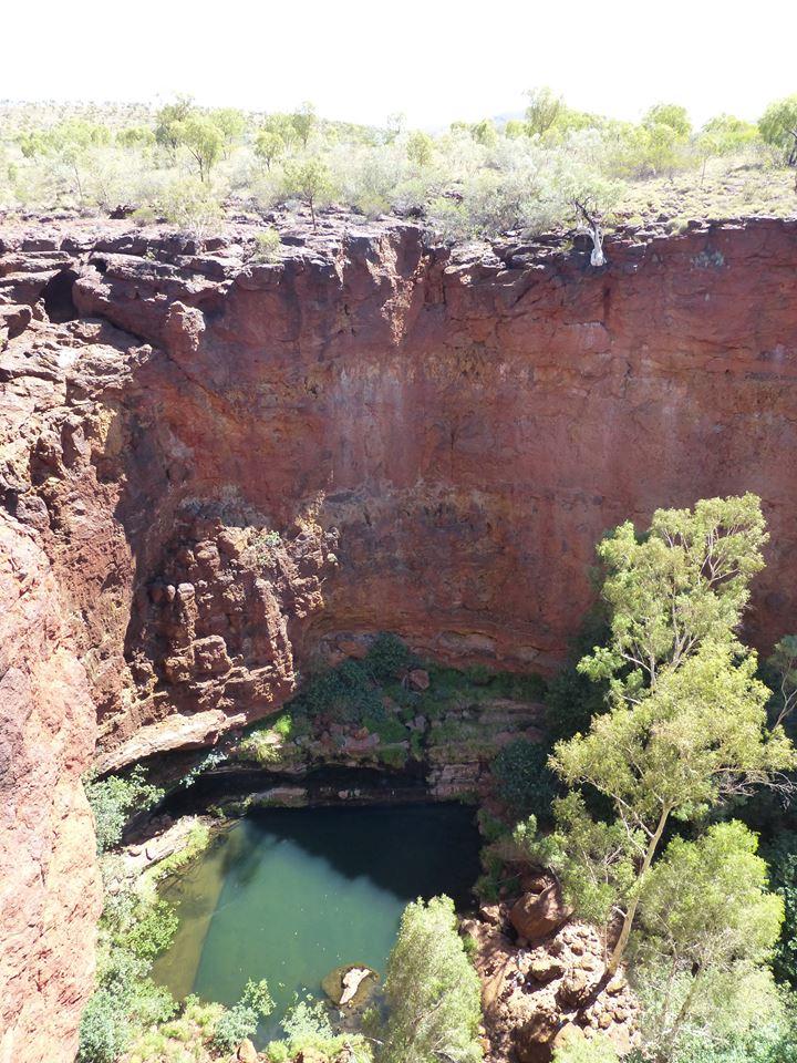 Circular Pool vue d'en haut
