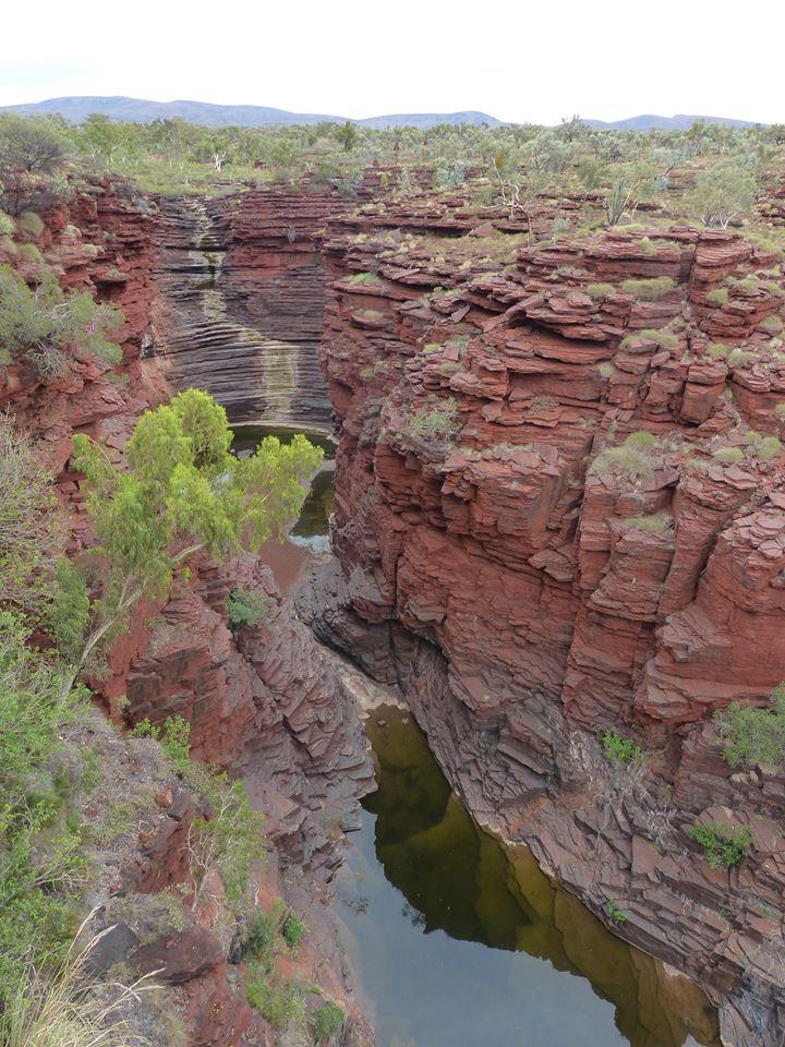 Gorges de Karijini - Oxer Lookout