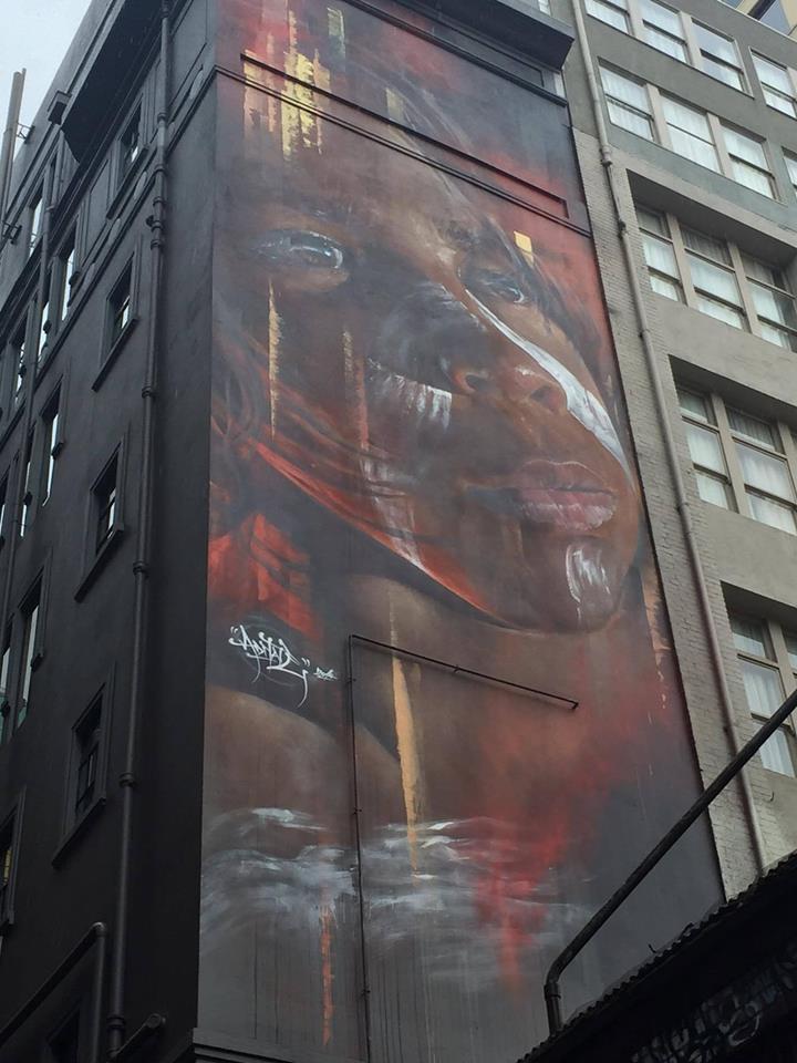 Sreet art, lanes of Melbourne