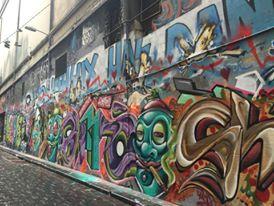 Street art, lanes of Melbourne