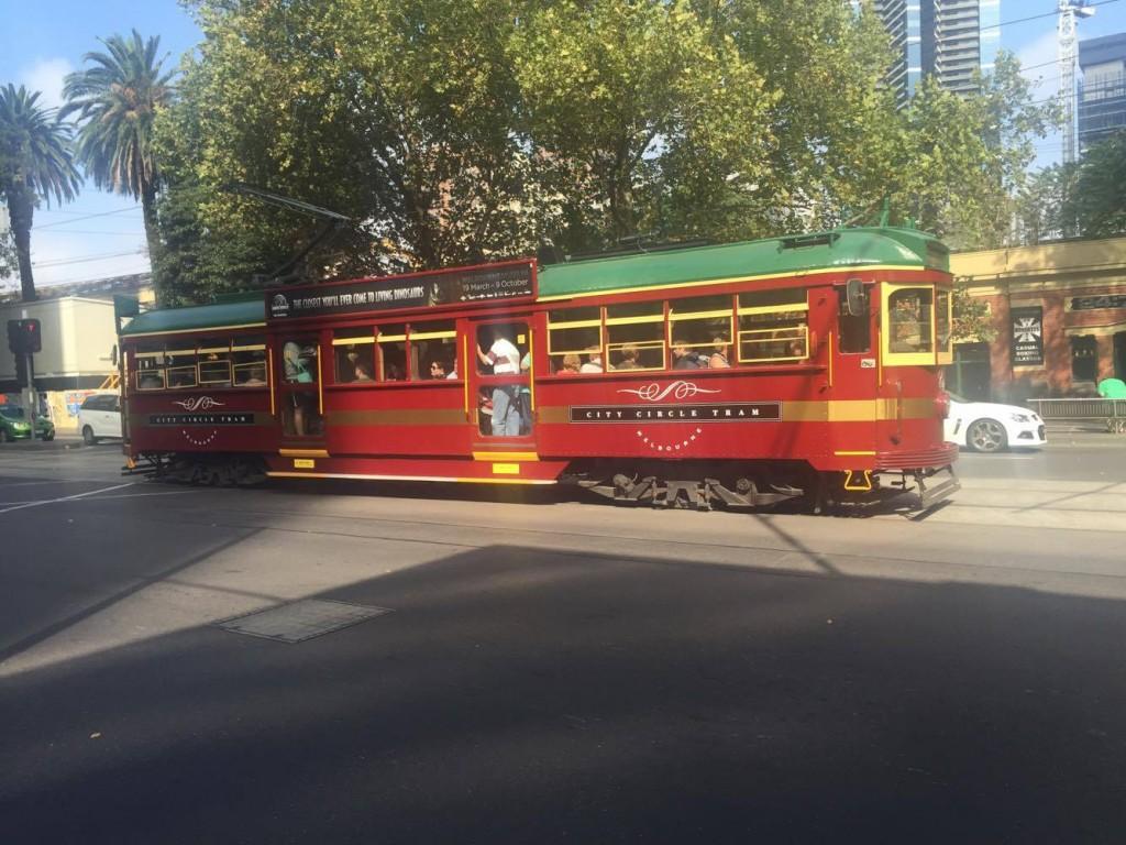 Vieux tramway, Melbourne
