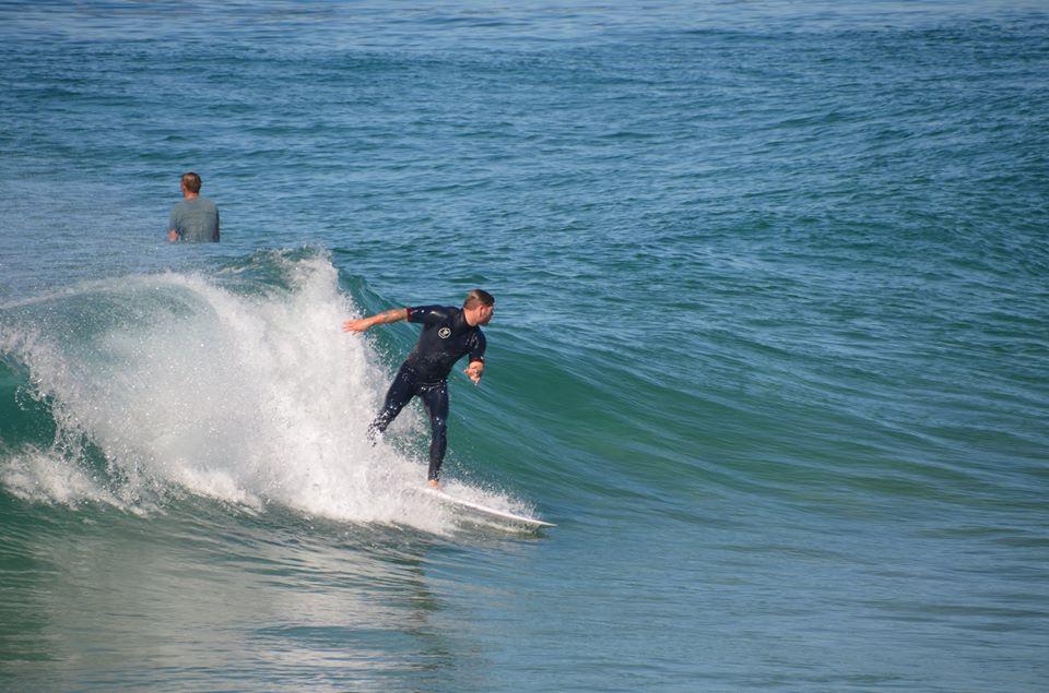 Surfeur à Wollongong